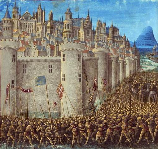Siege of Antioch Begins