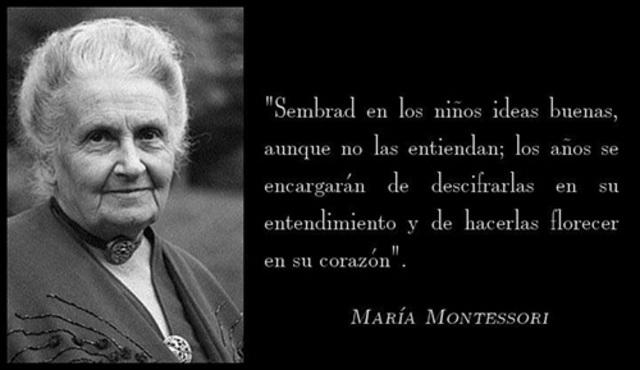 Maria Montessori - Función social de la educación