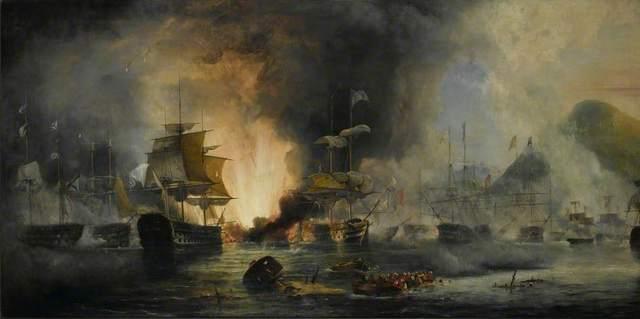 Наваринское морское сражение