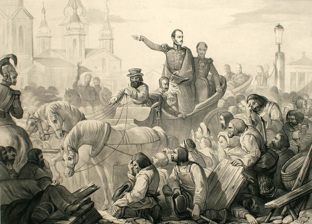 Холерный бунт в Петербурге
