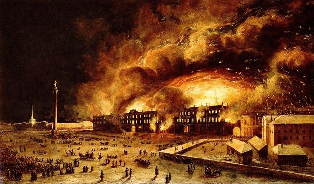 Пожар в Зимнем дворце