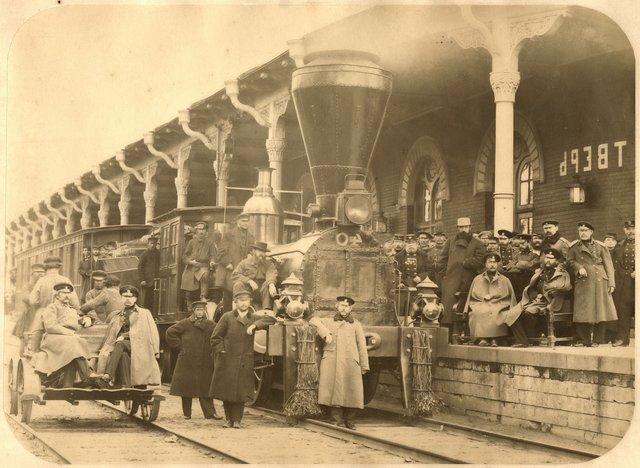 Открытие Николаевской железной дороги