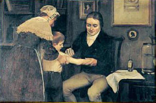 Primera vacuna eficaz contra la viruela