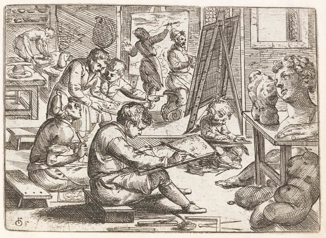 Fialetti's Etchings