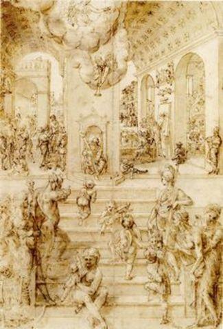 Allegory of the Artist's Career