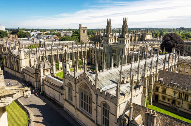 Oxford University is founded