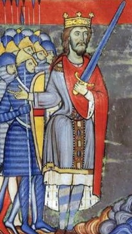 Henry II, the first 'Plantagenet' king, accedes to the throne