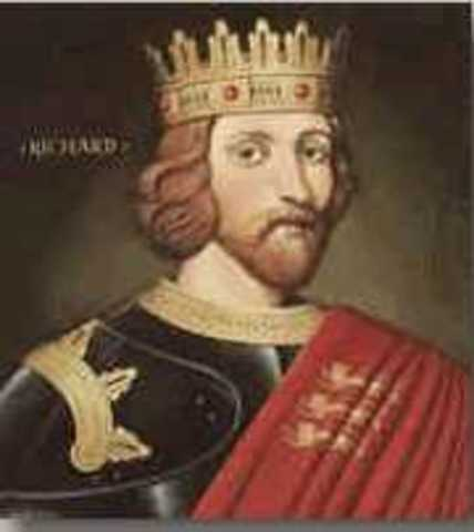 Richard  I becames King