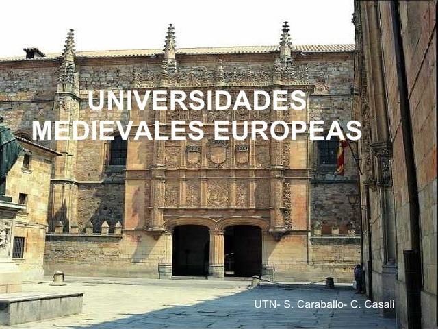 Primeras Universidades