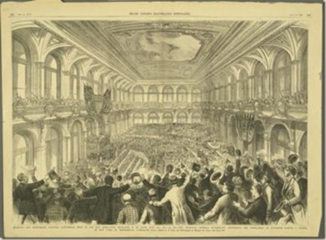 First Republican Convention held in Pittsburgh, PA.