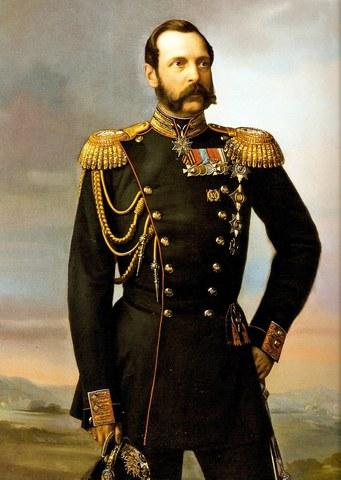 Вступление Александра II на престол