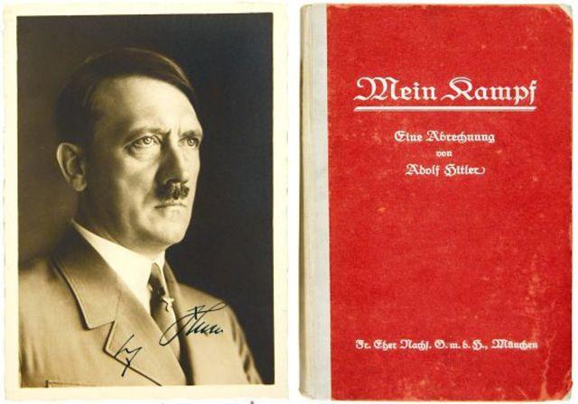 Publicación de Mein Kampf
