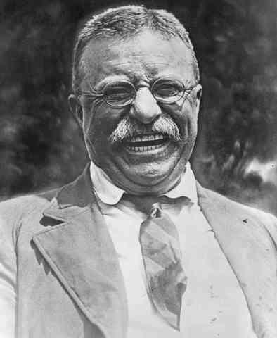 William McKinley is shot. Teddy Roosevelt becomes President.