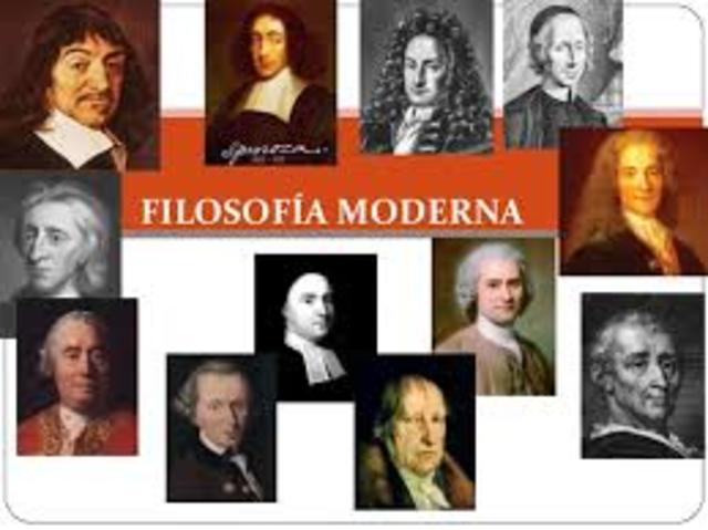 Filosofia: Idade moderna