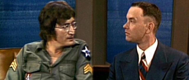 """John Lennon/Yoko Ono first appearance on Dick Cavett show/premier of """"Imagine"""""""