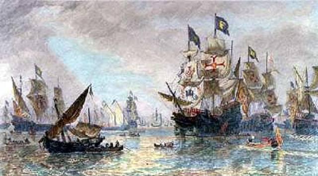 Defeat of Spanish Armada inspires England