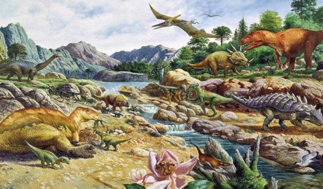 Comienzo del Mesozoico