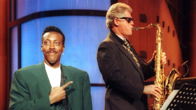 Bill Clinton elected president.