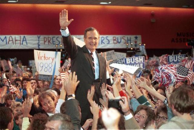 George H. W. Bush elected President