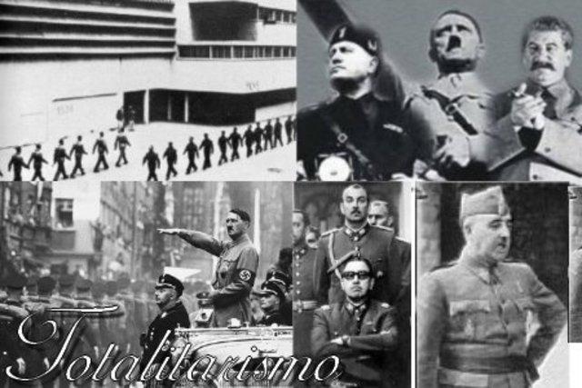 Régimen totalitario.