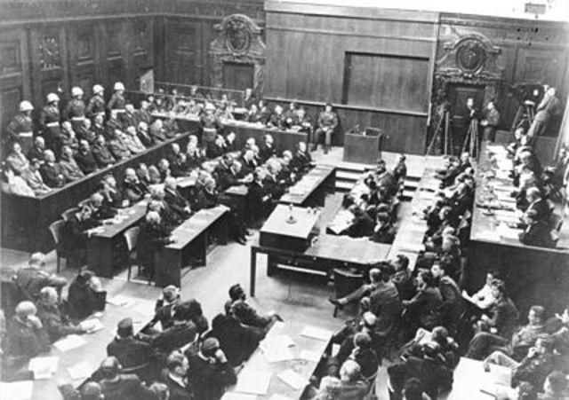 Juicios de Nuremberg.