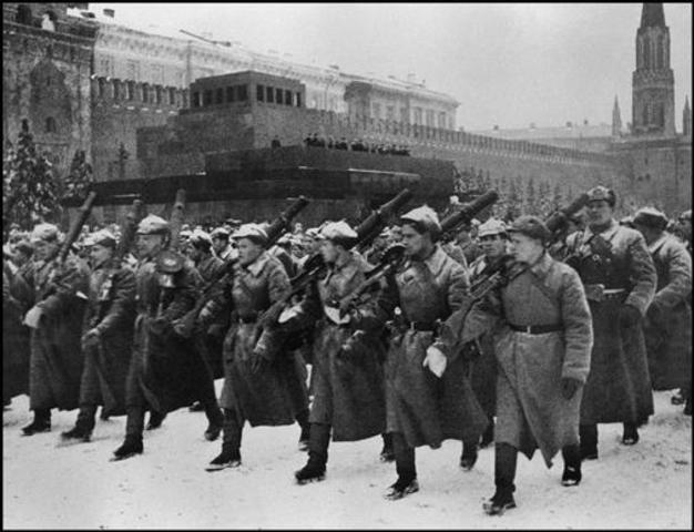 La invasión de la URSS.