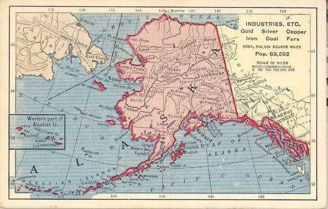 Договор о продаже Аляски и Алеутских островов