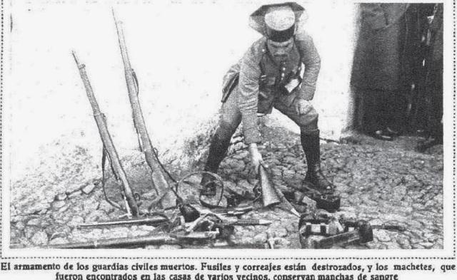 Enfrentamiento en Castilbanco