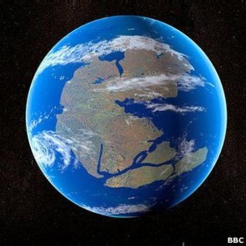 Formacion de Pangea 1