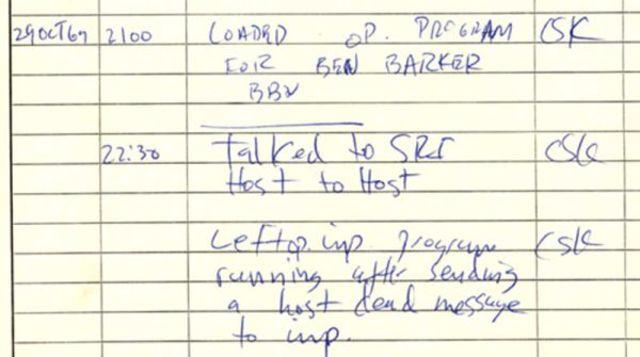 Между двумя первыми узлами сети ARPANET провели сеанс связи..