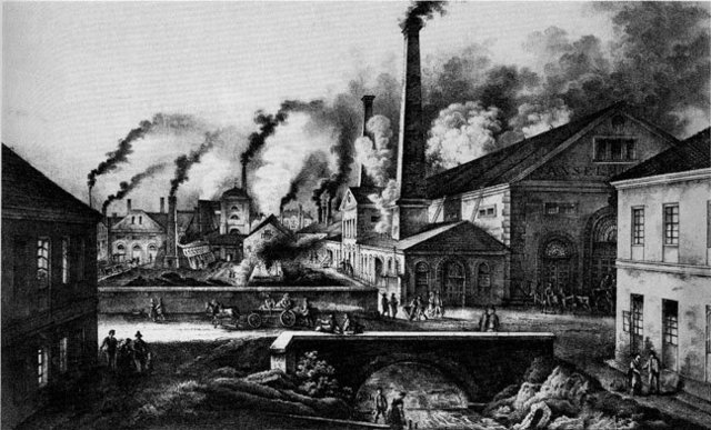 'Factory Age' begins with the opening of Britain's first cotton mill