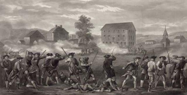 American War of Independence begins