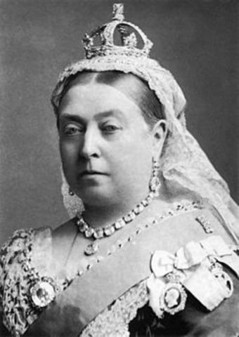 Victoria comes to the throne after the death of William IV