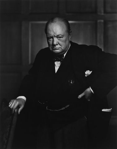 Winston Churchill becomes prime minister of the coalition government