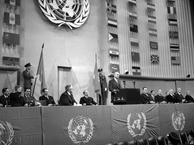La creación de la ONU