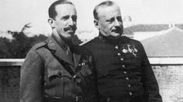 La dictadura del Primo de Rivera.