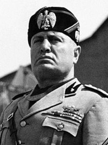 Benito Mussolini (1883-1945)