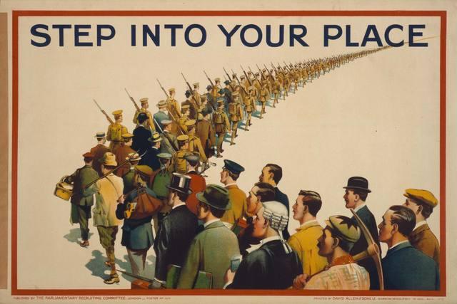 Conscription Begins