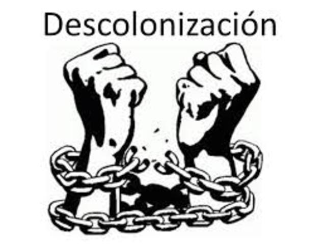 La descolonización: espacios y cronología