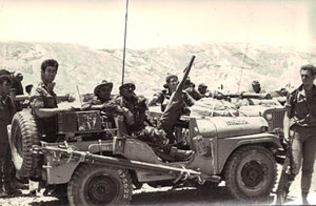 Guerra de los Seis Días.