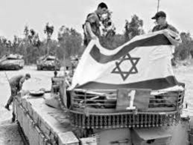 Las guerras árabes - israelíes