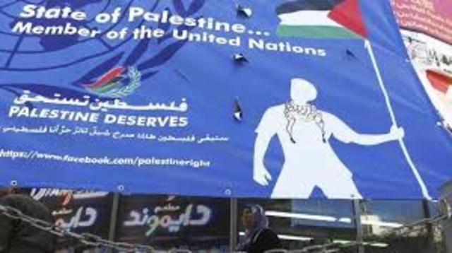 Palestina como estado observador.