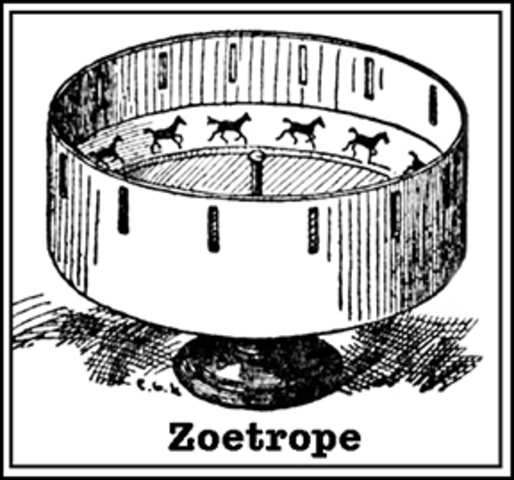 Invention of Zoetrope