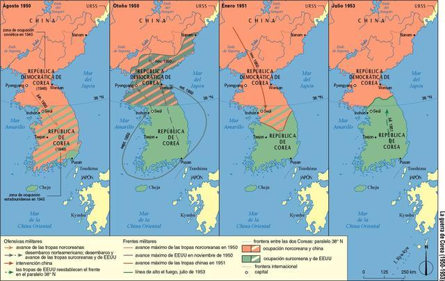 División y Guerra de Corea