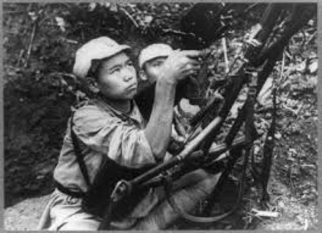 Fin de la guerra civil en China