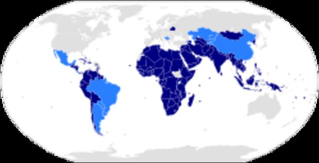 Movimiento de Países No Alineados.