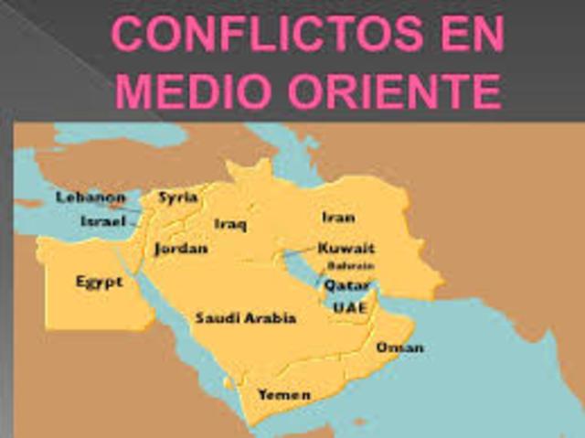 Conflicto en Oriente Próximo