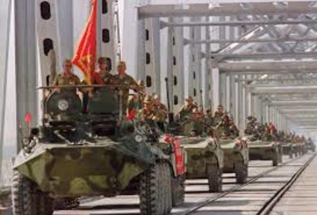 La salida de la URSS de Afganistán