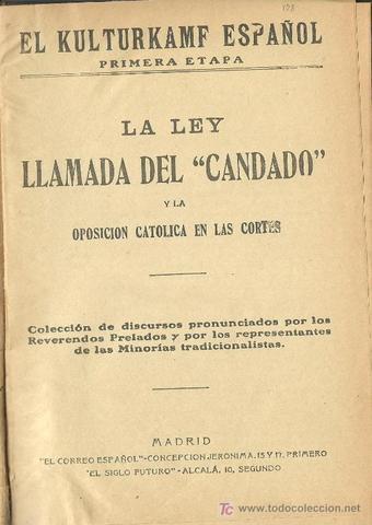 LEY DEL CANDADO