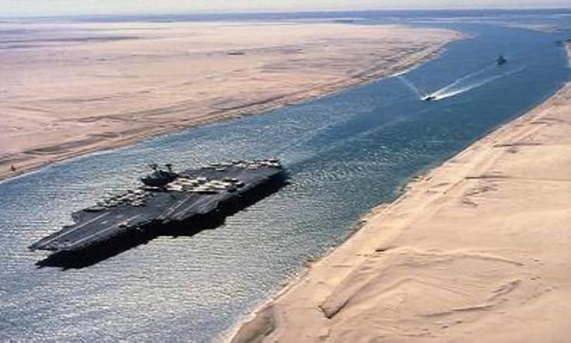 La crisis del canal de Suez